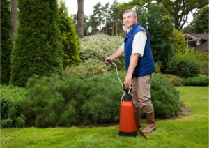 Homeowners use 10x as much pesticides