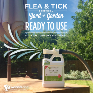 Easy to Use Flea & Tick Yard + Garden