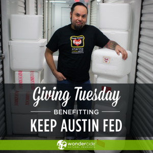 Giving Tuesday with Keep Austin Fed
